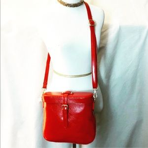 Pink Haley Bags - New Vintage Design Bag Cognac Color